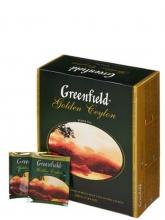 Чай черный Greenfield  Golden Ceylon (Гринфилд Голден Цейлон), упаковка 100 пакетиков