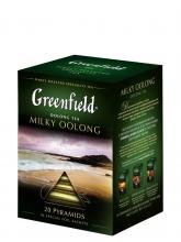 Чай улун Greenfield Milky Oolong (Гринфилд Молочный олонг), упаковка 20 пакетиков по 2 г