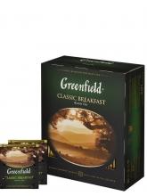 Чай черный Greenfield Classic Breakfast (Гринфилд Классик Брекфаст), 100 пакетиков