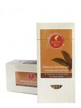 Чай черный Julius Meinl (Юлиус Майнл) Английский завтрак, упаковка 25 саше по 1,5 г, байховый