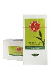 Чай зеленый Julius Meinl Green Tea (Юлиум Майнл), упаковка 25 саше по 1,5 г, китайский байховый